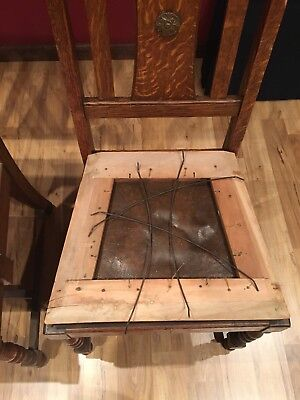 Old Colony Chair Company Seat Cushion FRAME ONLY Vintage 1910-1930? Rockford