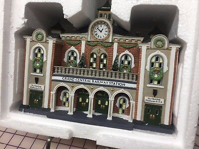 """Dept. 56 - Christmas in the City; """"Grand Central Railway Station"""" - No. 58881"""
