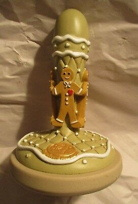 "Brown Bag Cookie Art ~ The Cookie Stamp ~ ""Gingerbread Man"" ~ #10 ~ 1995"
