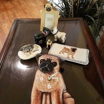 Pug Lover Collectibles - Offered as a Set