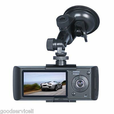 """Car DVR Recorder Full Hd 1080P Dash Cam 5MP with GPS Logger and G-Sensor2.7"""" LCD"""
