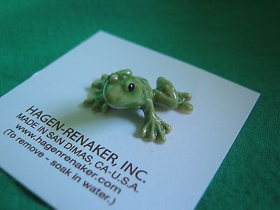 Hagen Renaker Baby Frog Figurine Miniature Ceramic 0477 FREE SHIPPING NEW