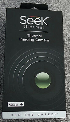 Seek Thermal Compact Thermal Imaging Camera for Android UW-AAA - EXC in Box!