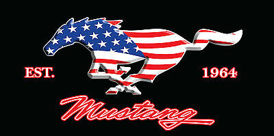 Ford Mustang Towel USA Flag 1964 Beach Pool Souvenir FULLY LICENSED!!! 30x60