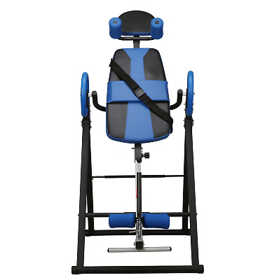 Merax 300lb Heated Vibration Massage Inversion Table with Ultra-Thick Back