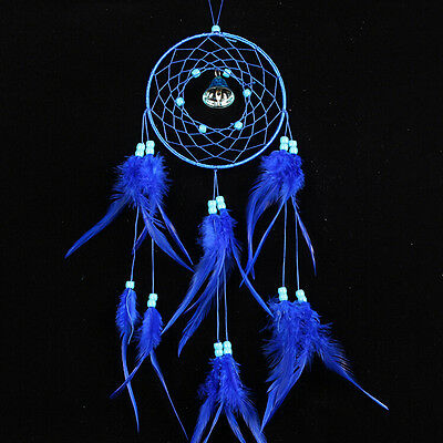 Dream Catcher with Feathers Car Wall Hanging Decoration Ornament Craft Gift EF