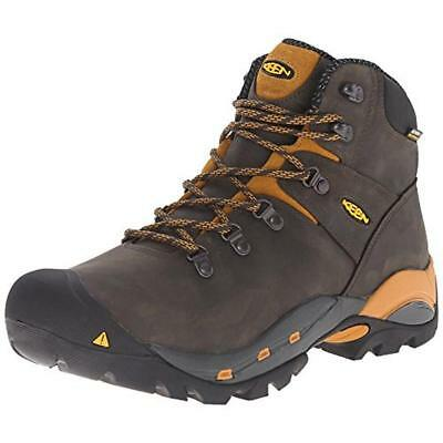 Keen 2779 Mens Cleveland Taupe Leather Work Boots Shoes 11.5 Medium (D) BHFO