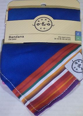 Bond & Co. Serape Dog Bandana, Large/Extra Large
