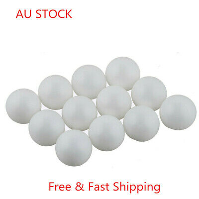 100Pcs Table Tennis Balls3-Stars 40mm Olympic Ping pong Balls White Trainning AU