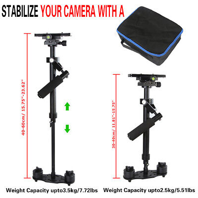 Handheld Stabilizer Video Steadicam for Camera DSLR Camcorder DV + Bag S60 / S40