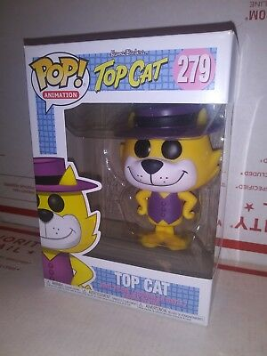 Funko Pop Top Cat #279 Vinyl Figure Animations NIB