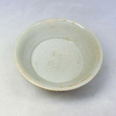 D263: REAL Korean Joseon-Dynasty white porcelain small bowl of appropriate tone