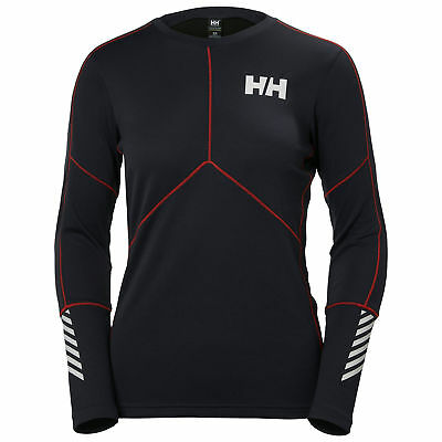 Helly Hansen Lifa Active Crew Women's Top Thermal Base Layer Winter New