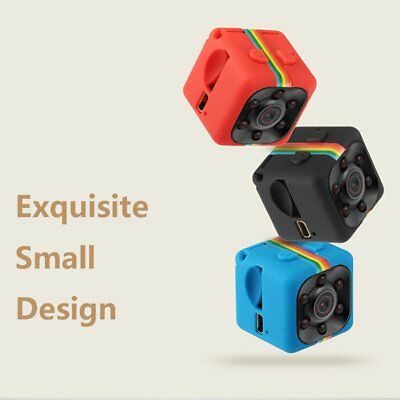 Pocket SQ11 Mini Camera 140gradi FOV 1080P HD DVR Camcorder con visione notturna