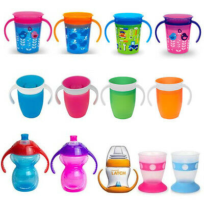 Munchkin Trainer Cup Toddler Training Drinking Anti Spill Chew Proof Miracle