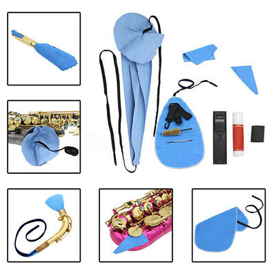 Saxophone Sax Cleaning Tool Case Cleaning Kit Instrument Accesories Maintaining