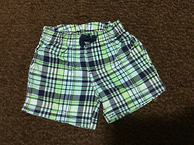 Child of Miny by Carter's 6 - 9 Months Blue and Green Shorts, 100% Cotton