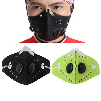 Anti Dust Pollution Half Face Mask Motorbike Cycling Bike Ski Running Filter