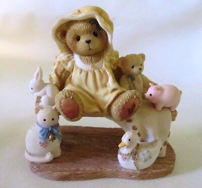 Cherished Teddies LUCILLE Friends Like You Are Cherished And Few 786543 2001