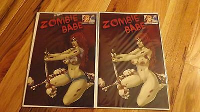 Zombie Babe In Your Dreams Exclusive Ltd 50 Nice & Risque SET HTF NYCC NM-