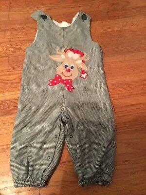 kellys kids unisex holiday longall in EUC size 18 months