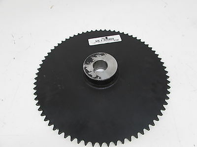 Martin Roller Chain Sprocket, Bored-to-Size, Type B Hub, Single Strand, 60 Chain