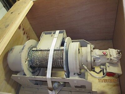Dp Manufacturing 45000Lb Hydraulic Military Winch 45 53642