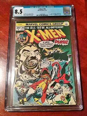 The X-Men #94 (Aug 1975, Marvel) CGC 8.5 ** 1st New X-Men Team ** OW/W pages