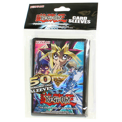 Yu-Gi-Oh! The Dark Side of Dimensions Kartenhüllen 50 Stück