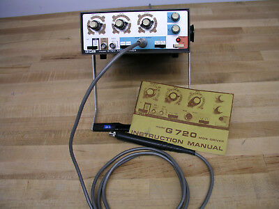 E-H G720 MOS Driver (Pulse Generator) 5Hz - 10MHz, Max 35V p-p w/ Manual, Tested