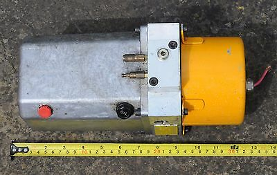 Knapp Hydraulic Pump Micro Hydraulic Connections fitted with 24V Electric Motor