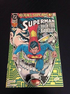 Superman #82 Nm Reign Of The Supermen