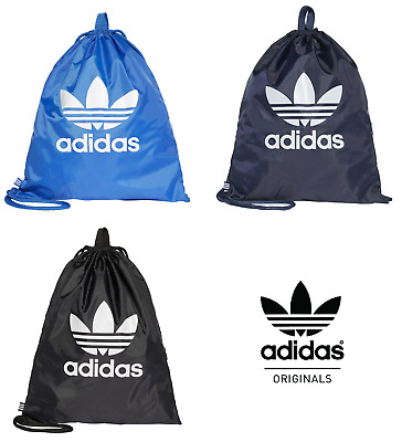 Adidas Originals - Gym Sack Draw String PE Bag Gymsack Sports Backpack School