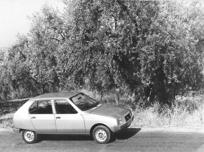 1978 Citroen Visa Club ORIGINAL Factory Photo oub9961