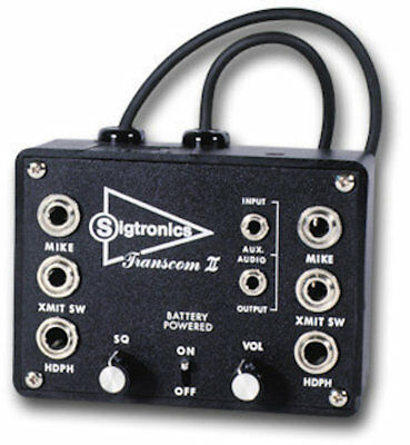 Brand New Sigtronics Transom II Model SPO-22 Two Place Intercom