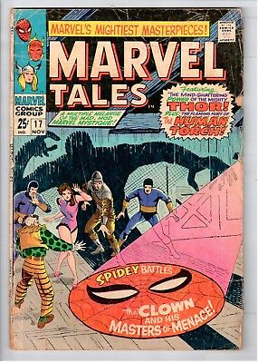 Marvel Tales #17 Silver Age Marvel Comics The Clown And His Masters Of Menace