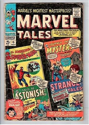 Marvel Tales #5 Silver Age Marvel Comics The Terrible Threat Of The Living Brain