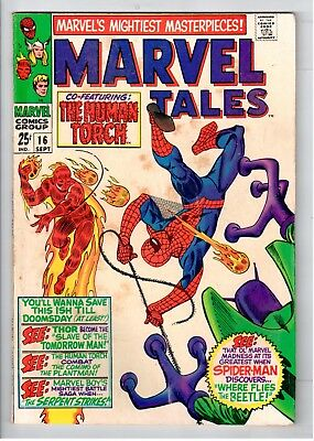 Marvel Tales #16 Silver Age Marvel Comics Where Flies The Beetle