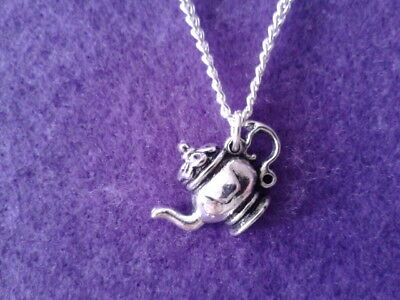 Teapot Necklace * Charm Jewellery * Alice Wonderland Mad hatter cake party