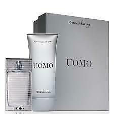 Ermenegildo Zegna Uomo 50ml EDT Spray and Hair/Body Wash 100 ml