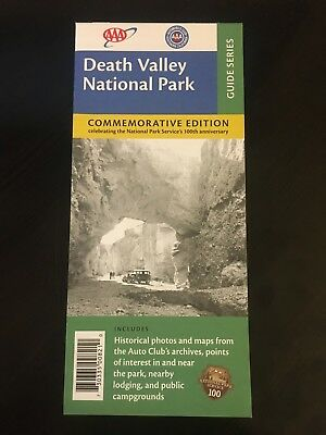 AAA Map—Death Valley National Park