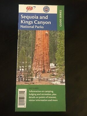 AAA Map—Sequoia and Kings Canyon National Park