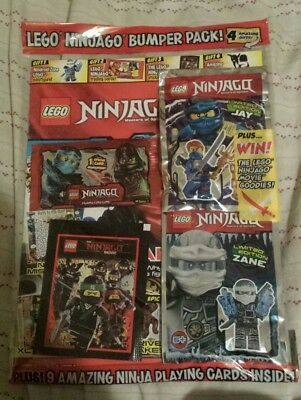 Lego Ninjago Mag issue 31 + free gifts