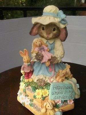 "Music Box Bunny Song is ""Younger than Springtime"" Nursery Nostalgia ""quick ship"""