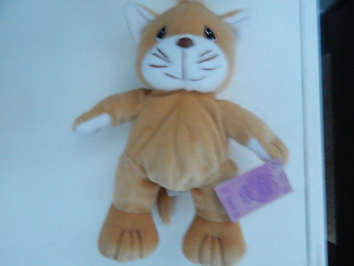 Precious Moments Tender Tails Cat with Original Tags 1998 Enesco Corp.