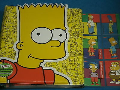 THE SIMPSONS Tempo 1996 Trading Card Base Set & Simpsons Anniversary Binder 2000