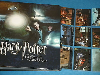 Harry Potter And The Prisoner Of Azkaban (Binder B & 2 Sets Of Trading Cards)