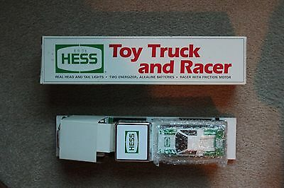 Original Hess Toy Truck and Racer (1991)
