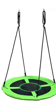 1M KID'S Web Canvas Round SWING gr8 Fun Special Needs, Toddlers, Outdoor