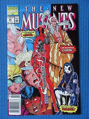 New Mutants # 98 - (Nm/nm+) - 1St Appearance Of Deadpool - High Grade -White Pgs